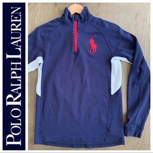 POLO Ralph Lauren zip BIG Pony pullover